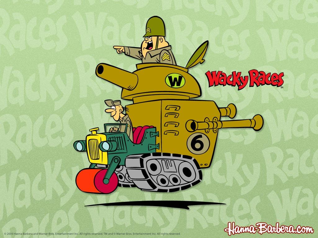 Corrida Maluca - O Carro Tanque